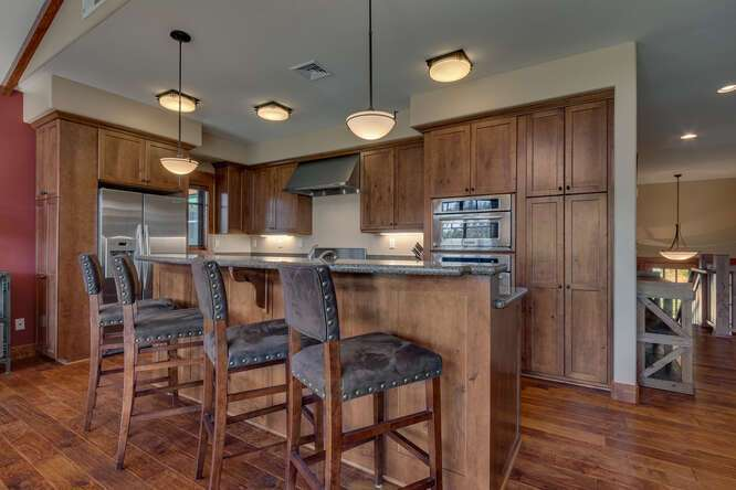 Gourmet kitchen with island | 10199 Annies Loop
