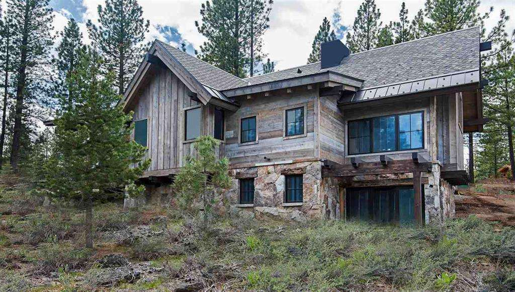 Back of home facing nature preserve and open space | Lahontan Real Estate