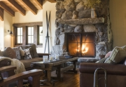 Vertical Great Room Fireplace | Squaw Valley