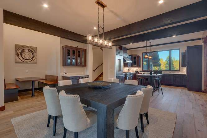 Truckee Golf Real Estate | 10911 Ghirard Court | Dining Room