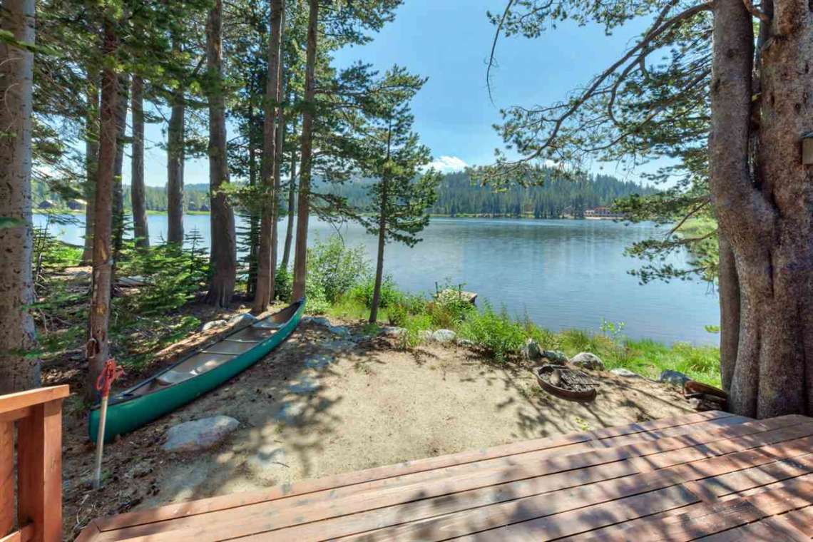 Serene Lakes Real Estate | 1102 Island Way Soda Springs CA | Serene Lakes Lake View