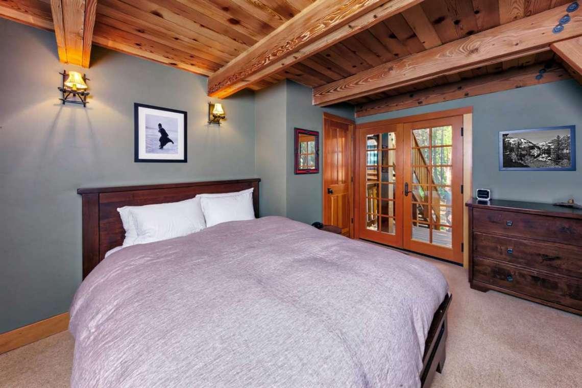 Serene Lakes Real Estate  | 1102 Island Way Soda Springs CA | Bedroom