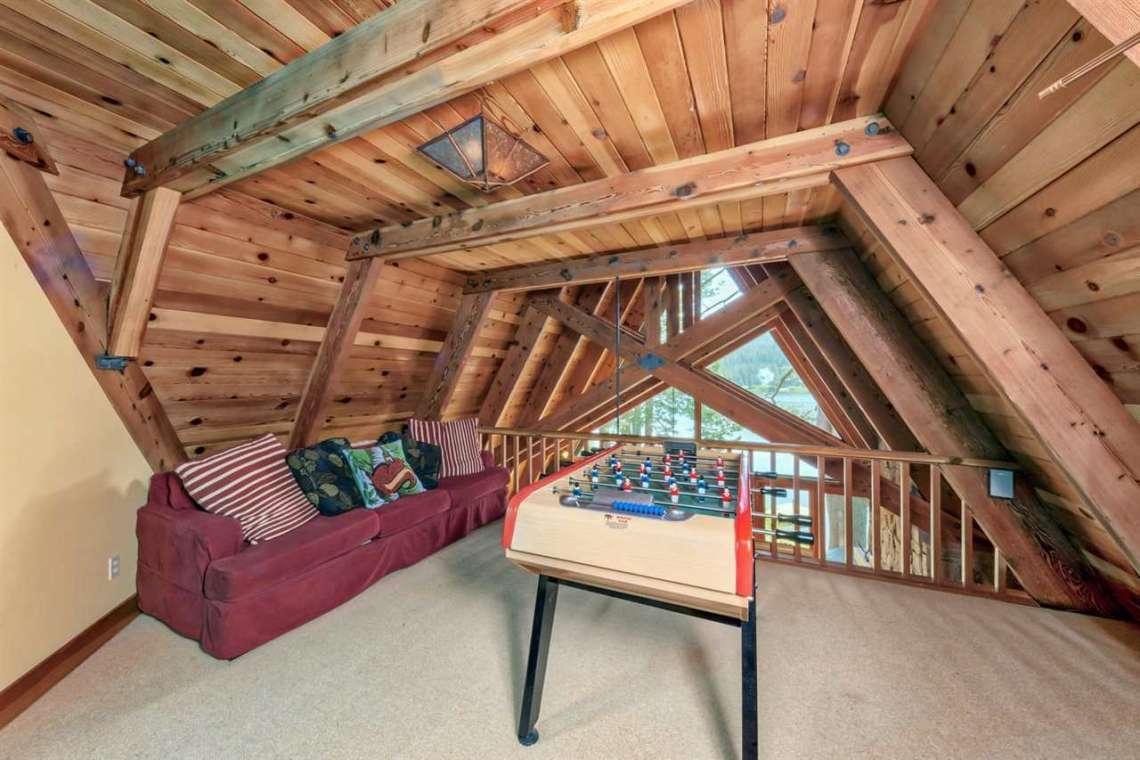 Serene Lakes Real Estate | 1102 Island Way Soda Springs CA | Loft