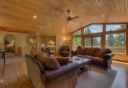 Open Concept Living Area of Kings Beach Home For Sale
