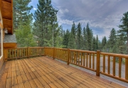 Lake Tahoe Luxury Real Estate | View From Deck