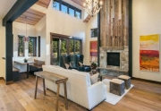 Expansive, Open-Concept Living Room