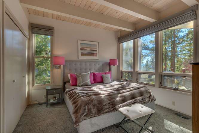 Master Bedroom | Lake Tahoe Home For Sale