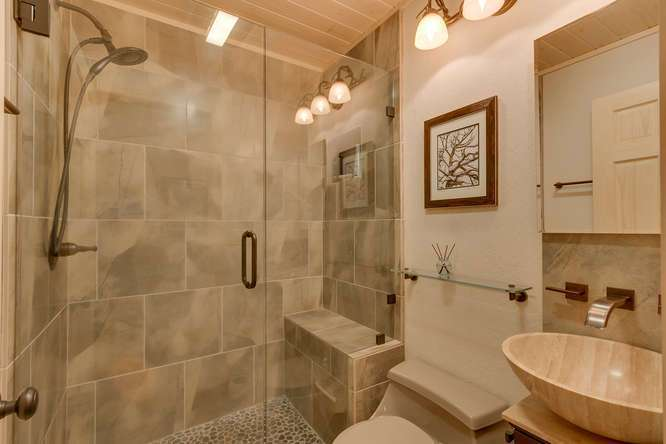 Guest bathroom | Lake Tahoe Home For Sale