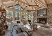 Beautiful great room with vaulted ceilings | Dollar Point Real Estate