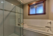Beautiful Master Bathroom With Jetted Tub