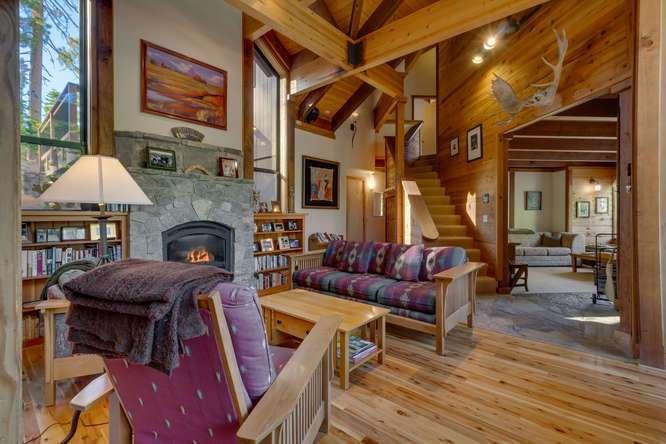 Alpine Meadows Real Estate | 1177 Snow Crest Rd Alpine Meadows | Living Room