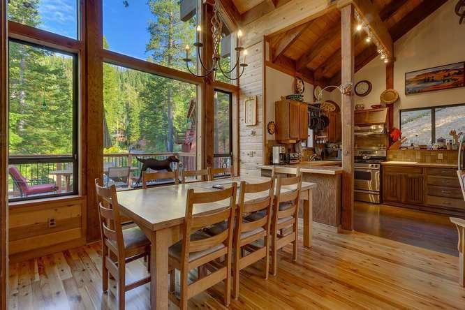 Alpine Meadows Cabin | 1177 Snow Crest Rd Alpine Meadows | Dining Room