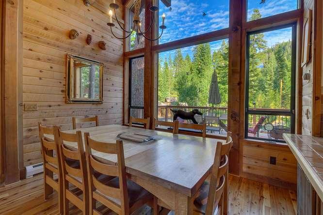 Lake Tahoe Cabin | 1177 Snow Crest Rd Alpine Meadows | Dining Room