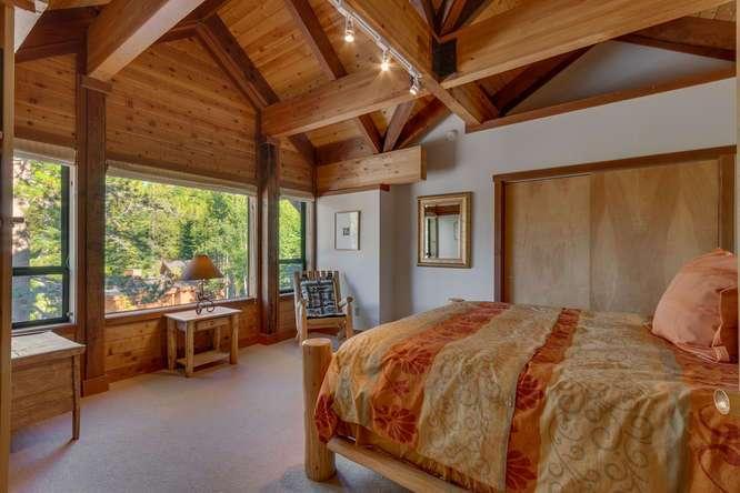 Alpine Meadows Ski Home | 1177 Snow Crest Rd Alpine Meadows | Bedroom