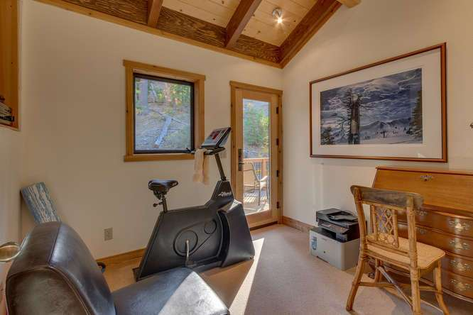 Lake Tahoe Home | 1177 Snow Crest Rd Alpine Meadows | Office