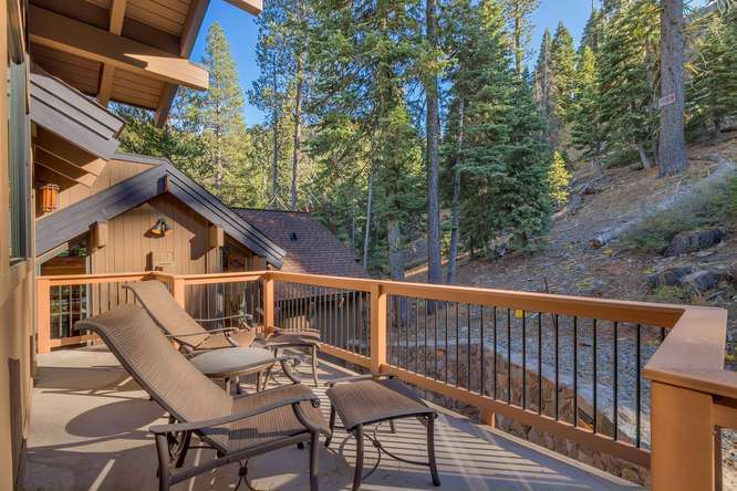 Lake Tahoe Home for Sale | 1177 Snow Crest Rd Alpine Meadows | Deck