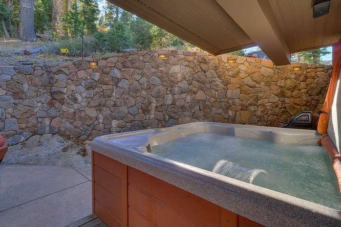 Alpine Meadows Ski Real Estate | 1177 Snow Crest Rd Alpine Meadows | Hot Tub