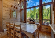 Lake Tahoe Cabin | 1177 Snow Crest Rd Alpine Meadows | Dining Room