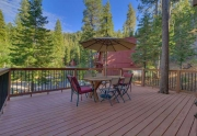 Lake Tahoe Ski Cabin | 1177 Snow Crest Rd Alpine Meadows | Patio
