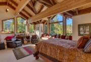 Lake Tahoe Real Estate | 1177 Snow Crest Rd Alpine Meadows | Master Bedroom Ensuite