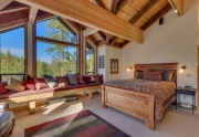 Lake Tahoe Ski Real Estate | 1177 Snow Crest Rd Alpine Meadows | Master Bedroom Ensuite