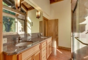 Luxury Tahoe Real Estate | 1177 Snow Crest Rd Alpine Meadows | Master Bathroom