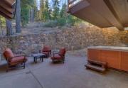 Lake Tahoe Ski Real Estate | 1177 Snow Crest Rd Alpine Meadows | Backyard