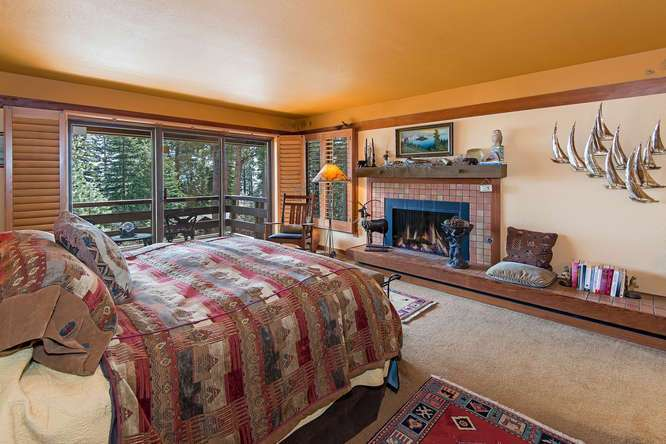 Large Master Suite featuring lake gorgeous lake views