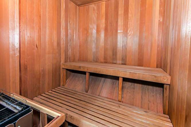 Sauna in Master Suite