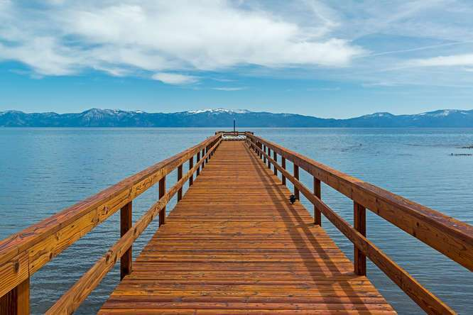 Gorgeous extended pier
