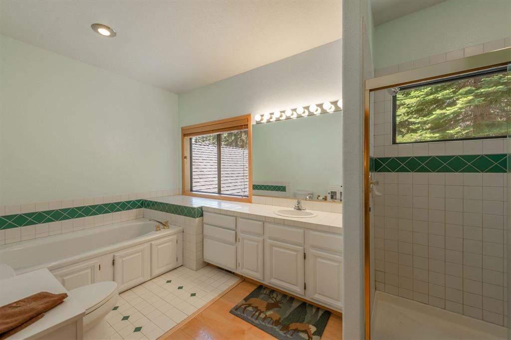 Primary bathroom   Tahoe Donner retreat