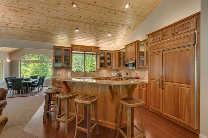 Truckee Real Estate | 12731 Brookstone Dr Truckee CA-small-006-17-KitchenBreakfast Bar