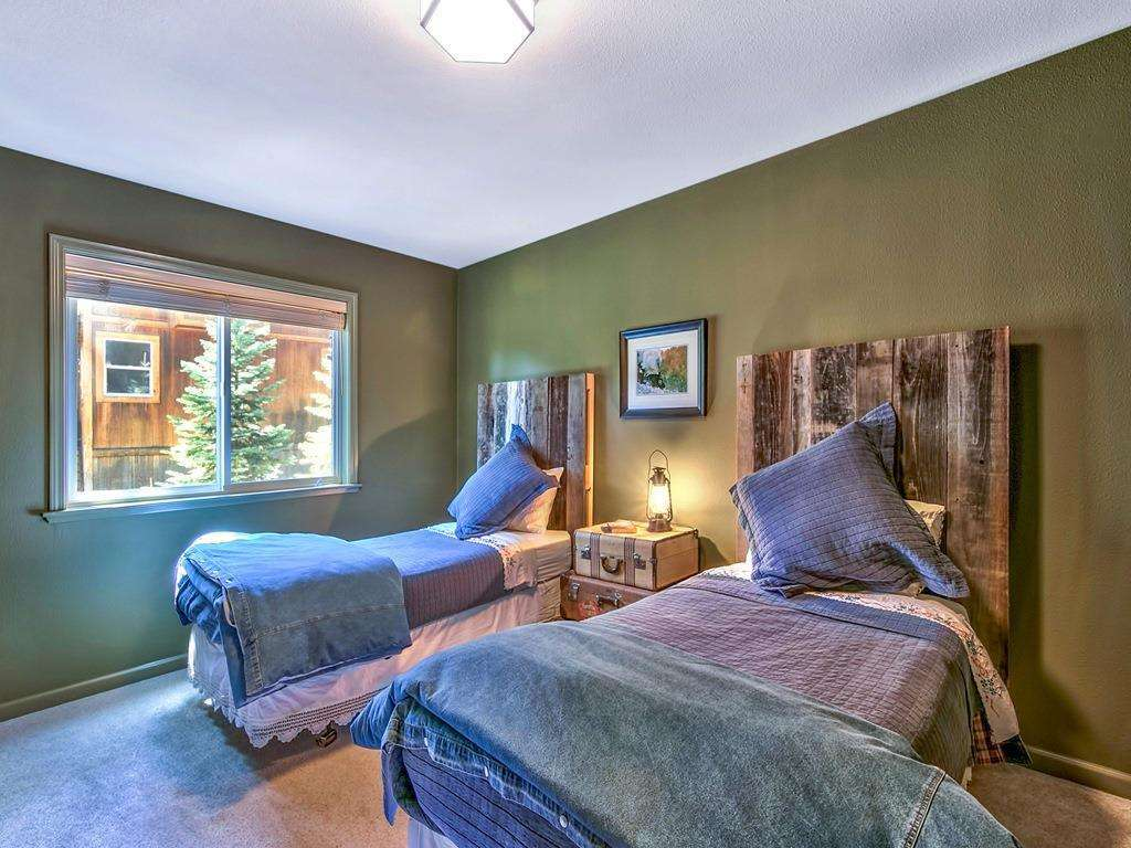 Guest Bedroom | Deluxe Real Estate Lake Tahoe