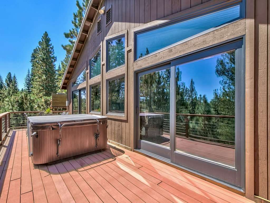 Hot Tub on Back Deck | Tahoe Donner Real Estate