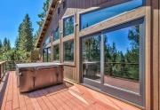 Hot Tub on Back Deck | Tahoe Donner Real Estate