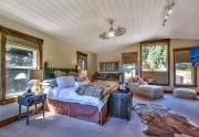 Spacious & Bright Master Bedroom | Lake Tahoe Luxury Real Estate