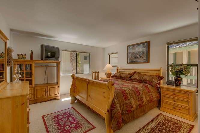 Master Bedroom   Tahoe Vista home for sale