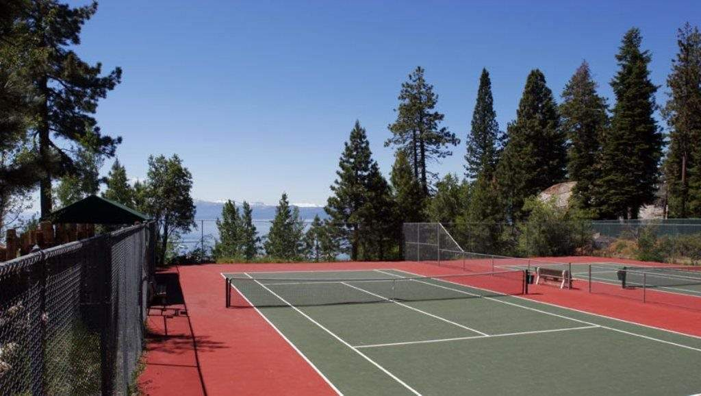 Dollar Point  HOA Tennis Courts   Dollar Point Lakeview Home