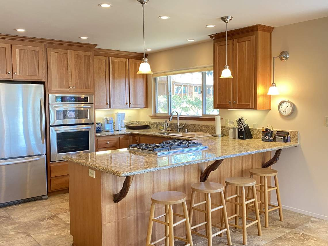 Updated Kitchen   Dollar Point Lakeview Home