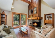 Open concept living area | Alpine Meadows Condo