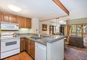 Updated Kitchen with Granite Tile | Alpine Meadows Tahoe condo for sale
