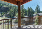Deck off of Living Room | Alpine Meadows Condos for Sale