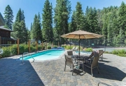 HOA Swimming Pool and Hot Tub | Alpine Meadows Real Estate