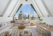 Remodeled Tahoe City Home | 135 Lakewood Lane | Living Room with view