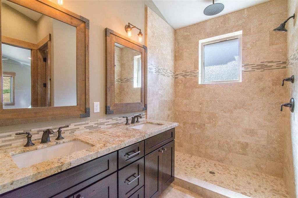 Master Bathroom | Tahoe Donner Home
