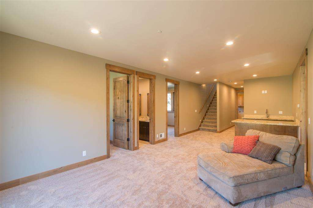 Second Family Room with Bar | Tahoe Donner Home