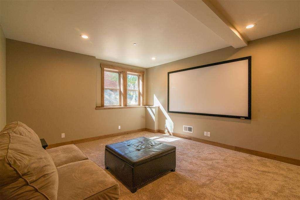 Media Room | Tahoe Donner Home