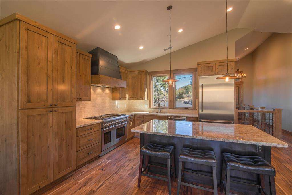 Gorgeous Chef's Kitchen with Top of the Line Appliances | Lake Tahoe Vacation Home