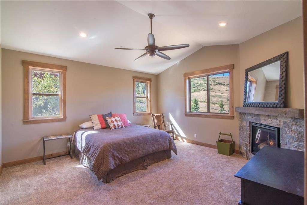 Master Bedroom | Tahoe Donner Home