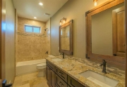 Guest Bathroom | Tahoe Donner Home